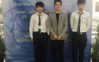 """อาจารย์และนักศึกษาวิชาเอกเทคโนโลยีวิศวกรรมเครื่องกล เข้าร่วมนำเสนอบทความวิจัยในงาน """"การประชุมวิชาการระดับชาติวิทยาศาสตร์และเทคโนโลยีครั้งที่ ๓ (3rd National Conference on Science and Technology)"""""""